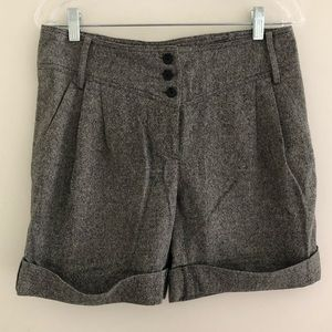 Patrizia Pepe Wool Blend Dress Shorts